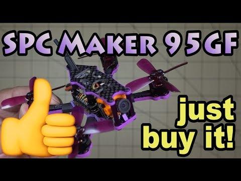 Micro Drones 101 🚁#28🔥 SPC Maker 95GF 😀👍