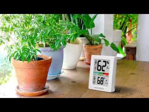 AcuRite Pro Accuracy Indoor Temperature and Humidity Monitor