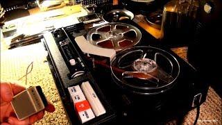 1967 Hitachi TRQ-520 Tape Recorder (Unrepaired)