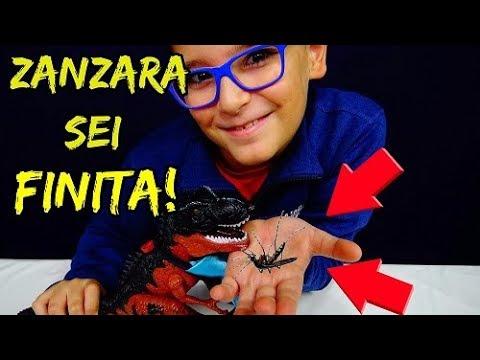 DINOSAURO CHE MANGIA ZANZARE - Leonardo D