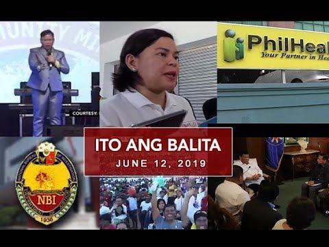 UNTV: Ito Ang Balita (June 12, 2019)