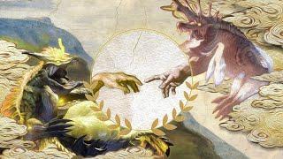 創世與末日的象征,古龍化人的真相【怪物獵人、魔物獵人風神龍雷神龍生態下】