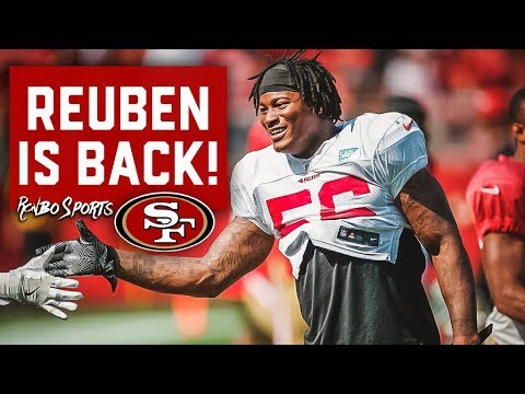 Live! Reuben Foster Is FREE To Rejoin The 49ers