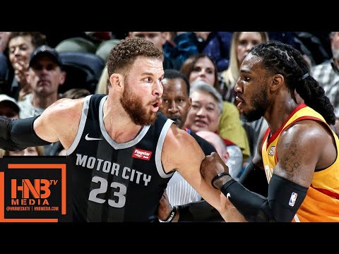 Utah Jazz vs Detroit Pistons Full Game Highlights | 01/14/2019 NBA Season