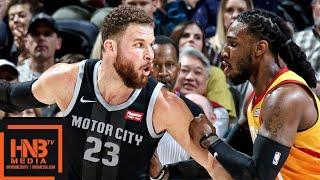 Utah Jazz vs Detroit Pistons Full Game Highlights | 01/14/2019 NBA Season