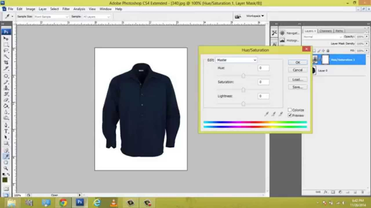 how to change dress color