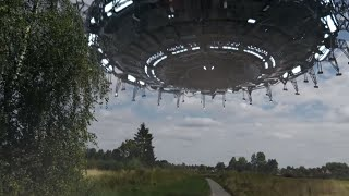 Real UFO Spotted In Belgium