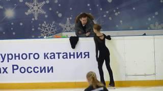 Александра Трусова, ПП на тренировке, ФКР 2017