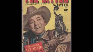 Watch Tex Ritter The Long Black Rifle video