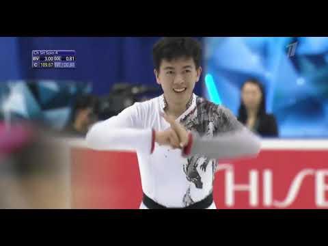 Vincent Zhou  USA Team World Cup 2019 Free Program 2nd Place