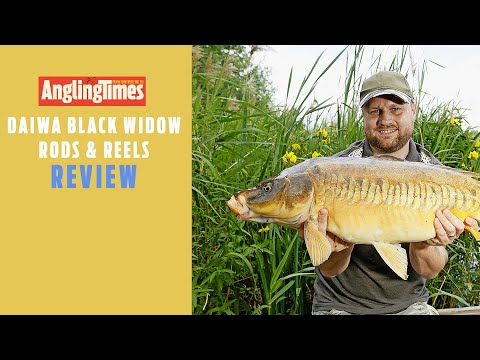FISHING TACKLE REVIEWS | DAIWA Black Widow Rod & Reels