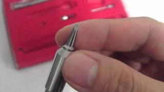 Metal Butane Gas Soldering welding Iron Torch Kit pen