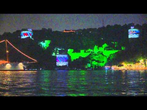 Samsung Galaxy S III Rumeli Hisarı Video Mapping by Cheil Worldwide Turkey & DreamBox & Visio-Vox