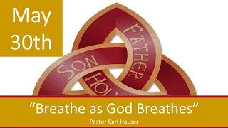 May 30 Worship Southminster Presbyterian Church St. Louis Live Stream