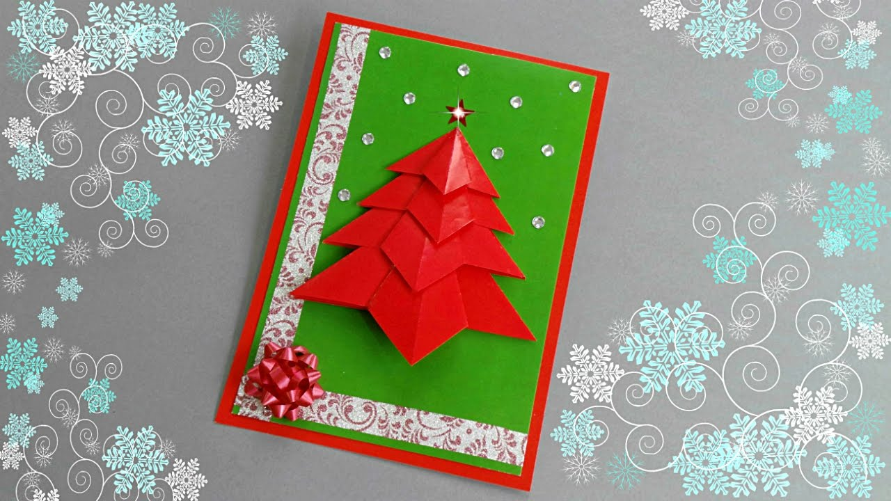 Homemade christmas greeting cards here are lots of ideas for diy christmas greeting card tutorial diy cards m4hsunfo