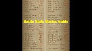 Clash of Kings - Battle Stats Basics Guide