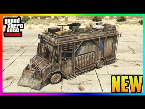 """GTA 5 Online - NEW """"ARMOURED BOXVILLE"""" Special Car Showcase! (GTA 5 Import & Export DLC)"""