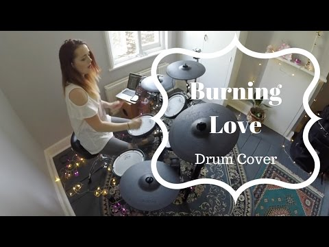 Elvis Presley with Royal Philharmonic Orchestra - Burning Love - Drum Cover