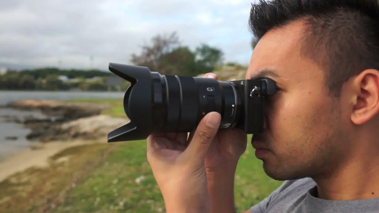 Sony 18 105mm F4 G Series Lens Review John Sison Youtube Fe 24 F 4 Oss Lensa Kamera Black