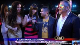 """Jeanet Barboza en """"Las Movidas Extremas""""-""""Dia D"""" 22/07/2012"""
