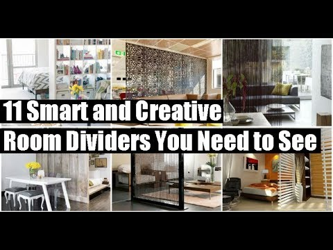 11 Smart and Creative Room Dividers You Need to See