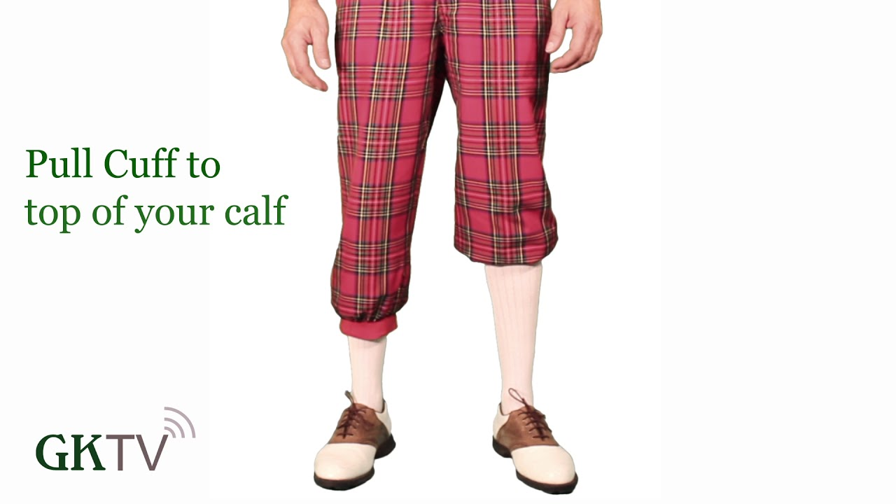 How To Wear Your Royal Stewart Golf Knickers