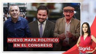 Nuevo mapa político en el Congreso | Sigrid.pe