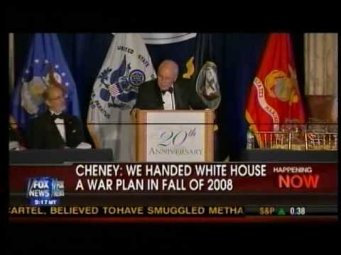 10/22/09 airing of 10/21/09 Cheney speech summary
