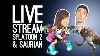 LIVE STREAM OF THE WEEKEND: Splatoon 2, Saurian and the Snazzy Sequel Quiz! (LIVE from Loading Bar)