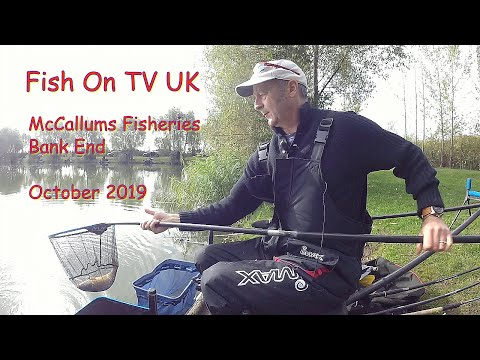 FishOn TV UK.  McCallums Fisheries, Bank End.  Live Match.