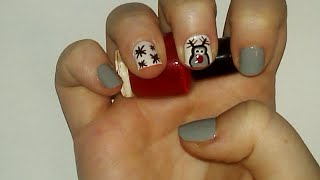 Reindeer Nail Art Tutorial | Samantha Beauty Thumbnail