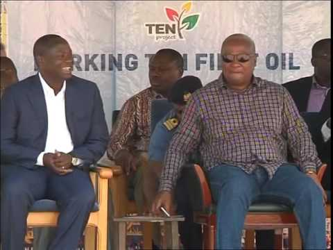 President Mahama commission's TEN first oil amidst wide expectations