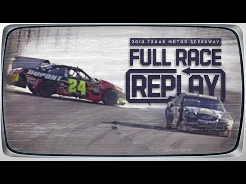 NASCAR Classic Full Race: Jeff Gordon and Jeff Burton tangle at Texas | 2010 Texas Motor Speedway