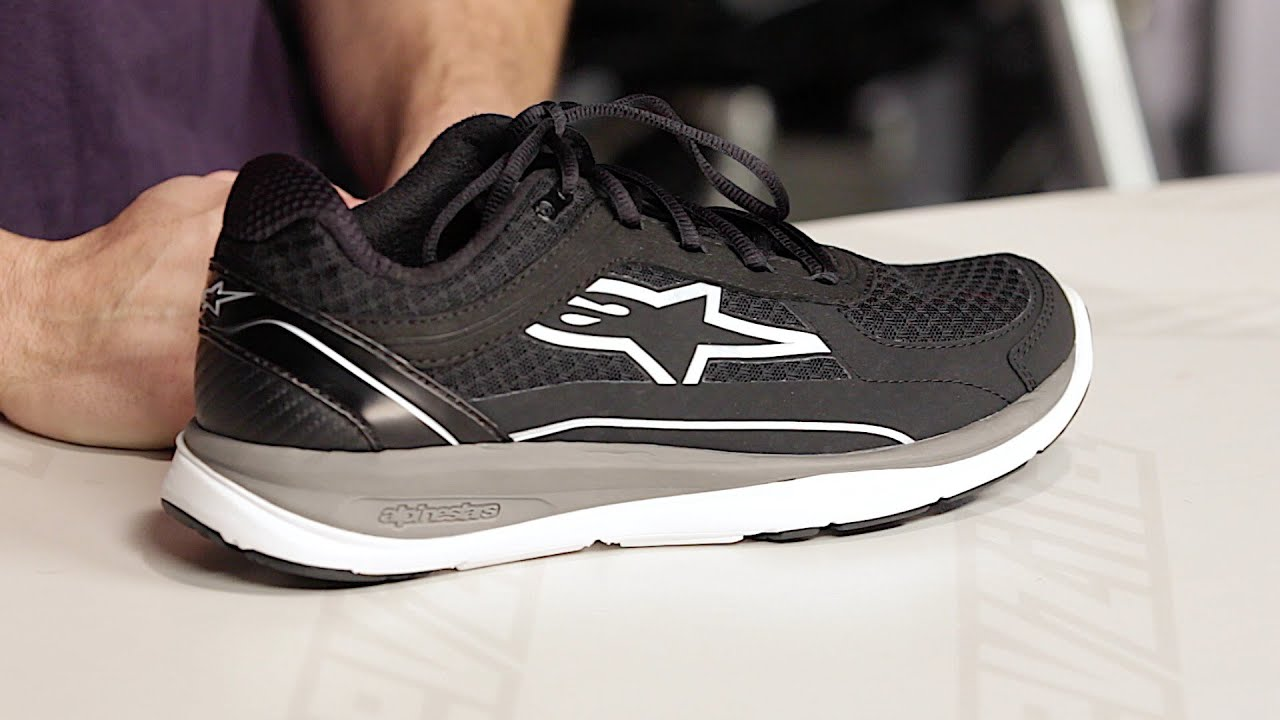 Alpinestars 100 Running Shoes Review at RevZilla.com - YouTube d1b4a8a8495d