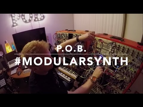 "Live Modular Synth Performance: ""Lifepod"" by P.O.B. (@obrienmedia)"
