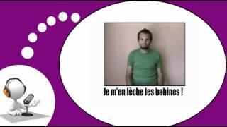 Французского видео урок = Жесты и выражения, № 8
