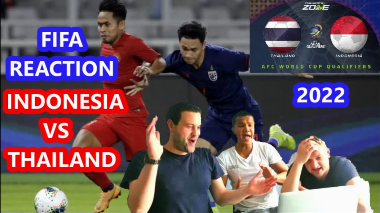 Indonesia VS Thailand. Fifa World Cup 2022 Qualifier REACTION ⚽️🇮🇩🇹🇭