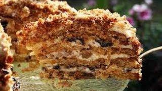 США. Медовый торт.