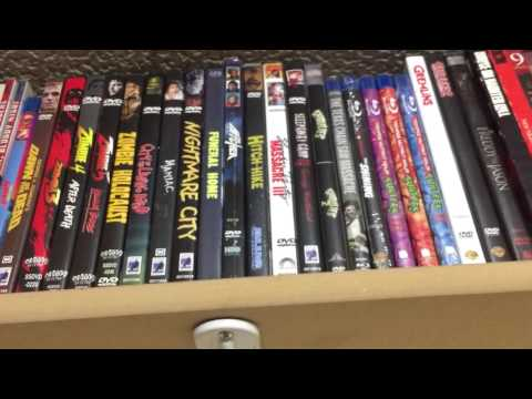 Dvd & Blu Ray collection(horror/Sci-Fi)
