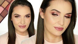PRZEGADANY TUTORIAL: Dziewczęcy makijaż paletką Chocolate Rose Gold Makeup Revolution
