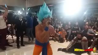 CESAR FRANCO : Chala Head Chala - Opening DRAGON BALL Z | AniMusic II Perú 2017