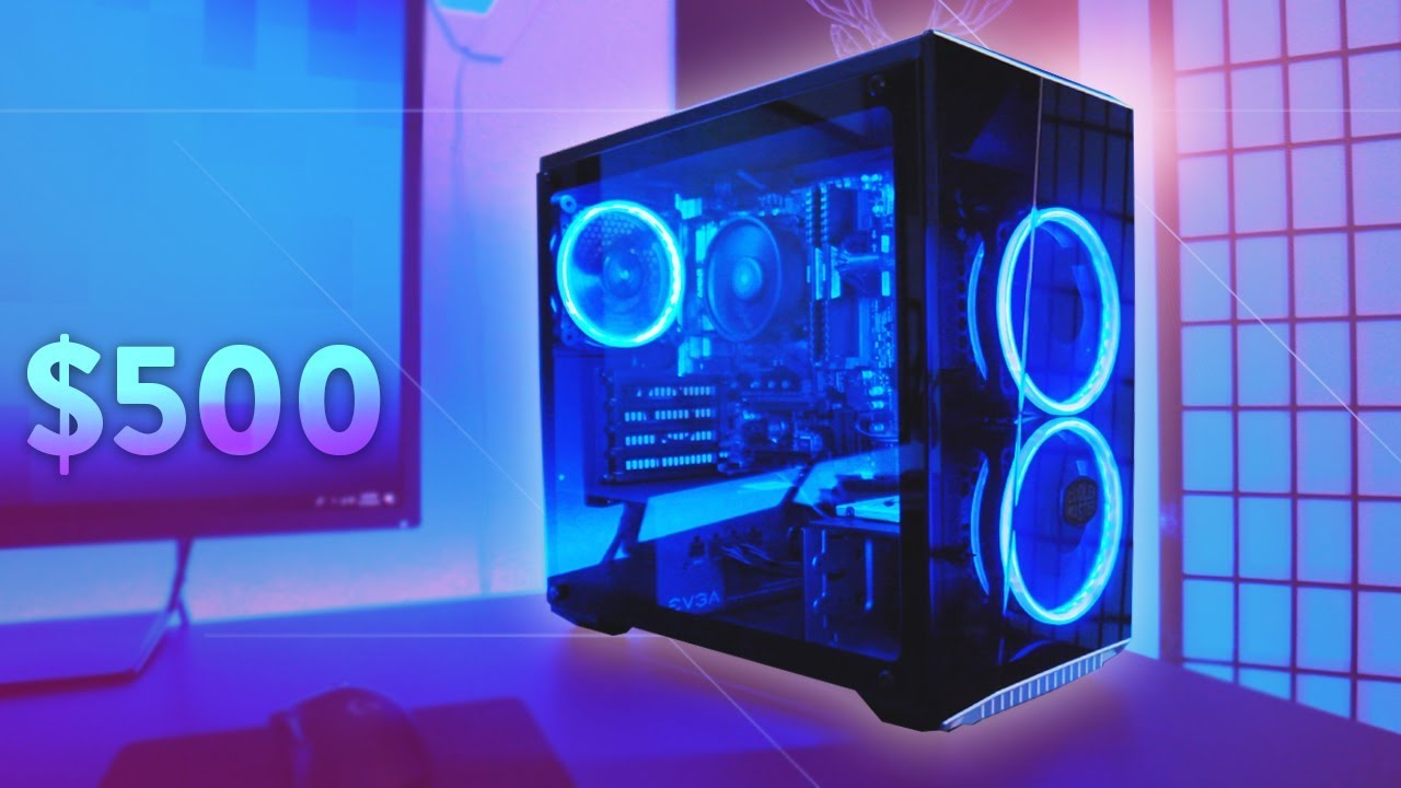 Build A 500 Budget Gaming Pc Play Fortnite 2018 Youtube