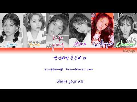 AOA (에이오에이) – Bingle Bangle (빙글뱅글) Lyrics (Han|Rom|Eng|COLOR CODED)