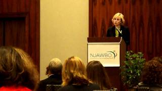 NJ Lt. Governor Kim Guadagno speaks at NJAWBO 2010 Conference