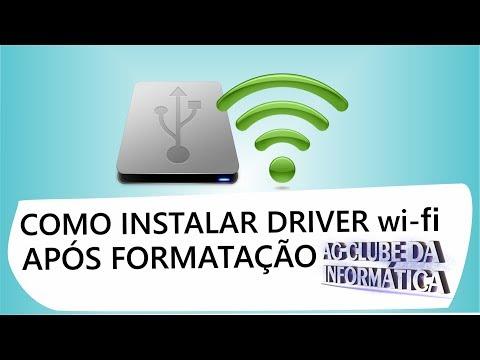 Como Instalar Drivers De Rede Após Formatação- TP-Link