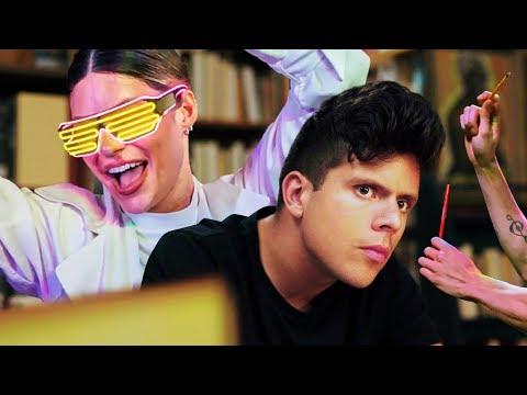 Crazy Library Party | Rudy Mancuso & Hannah Stocking