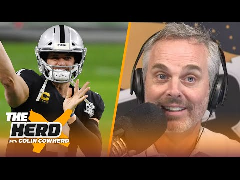 Raiders should feel good despite loss, Colts exposed Packers in Week 11 — Colin | NFL | THE HERD