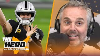 Raiders should feel good despite loss, Colts exposed Packers in Week 11 - Colin | NFL | THE HERD