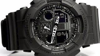 CASIO G-SHOCK GA-100-1A1ER видео(CASIO G-SHOCK GA-100-1A1ER характеристики, видео., 2013-08-21T13:29:02.000Z)