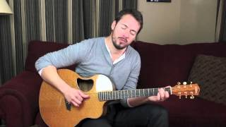 "Warren Barfield performs ""Redbird"" for HearItFirst.com"